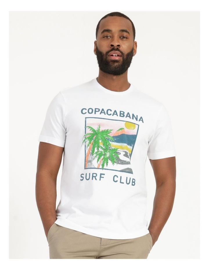 Copacabana Surf Club Graphic T-Shirt image 2