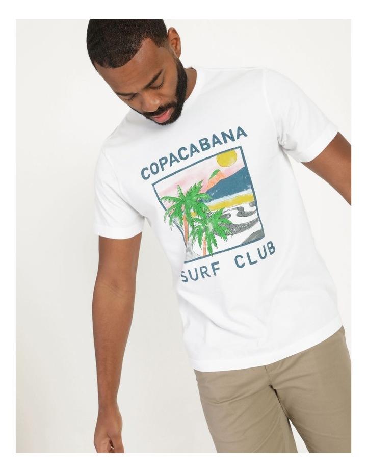 Copacabana Surf Club Graphic T-Shirt image 3