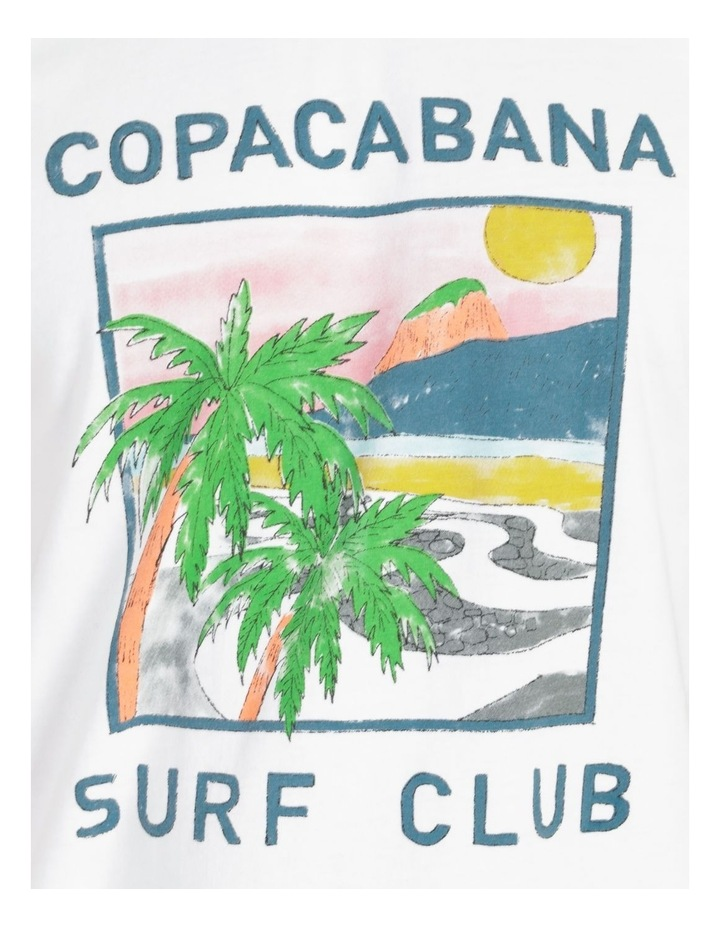 Copacabana Surf Club Graphic T-Shirt image 7