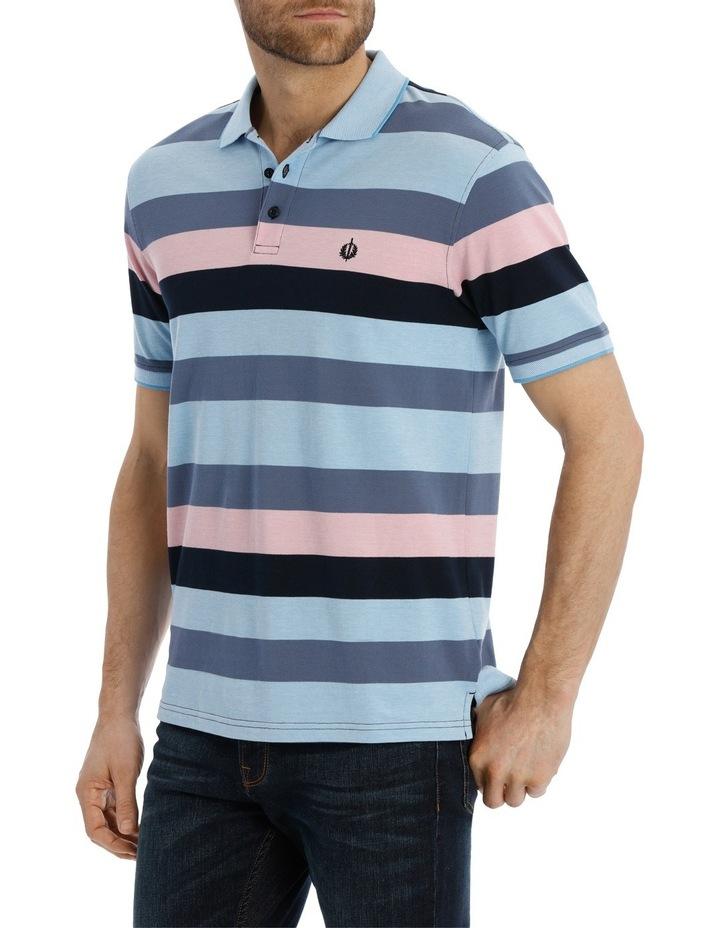 Block Stripe Polo Pique image 2