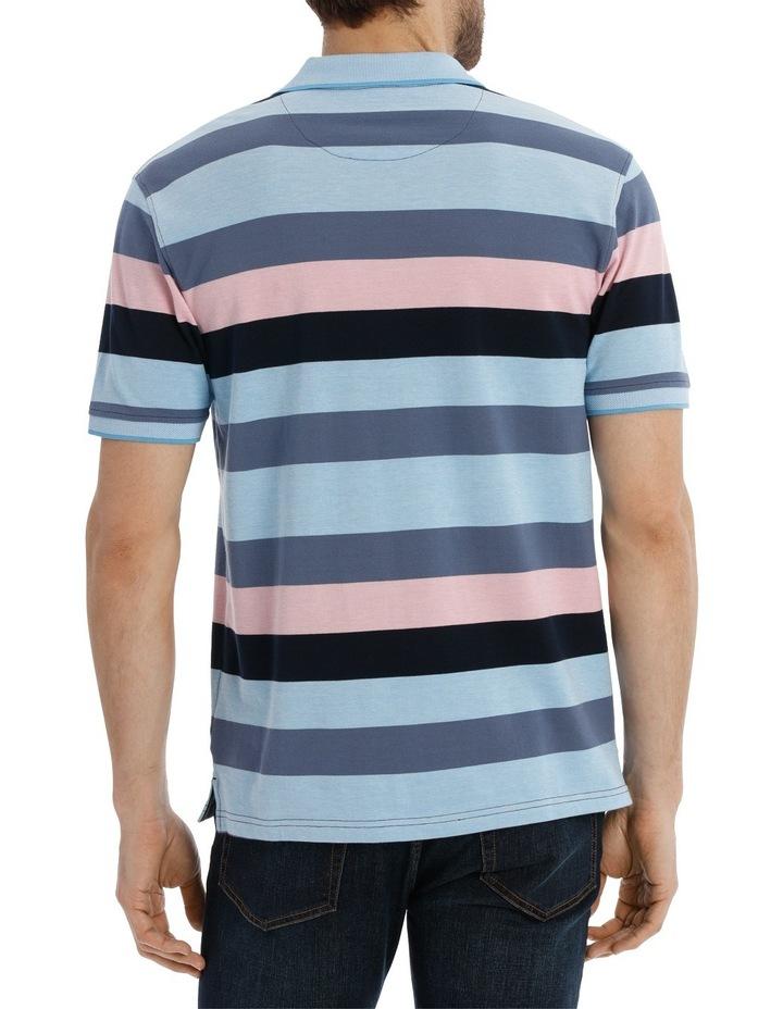 Block Stripe Polo Pique image 3