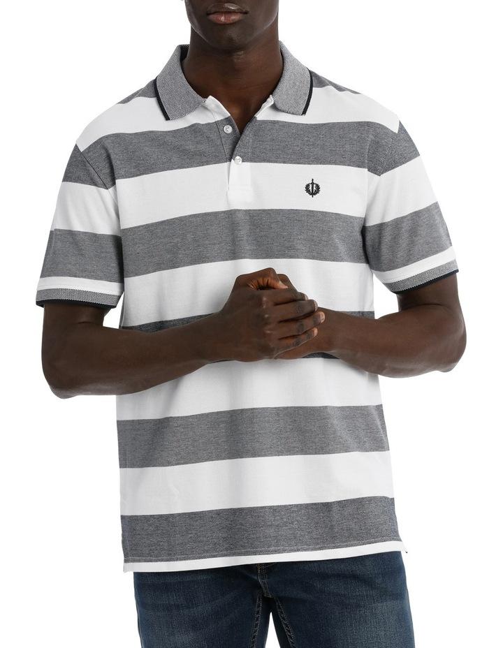 Birdseye Stripe Polo image 1