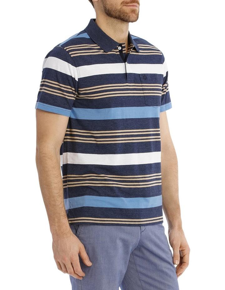 Coconut Stripe Polo image 2