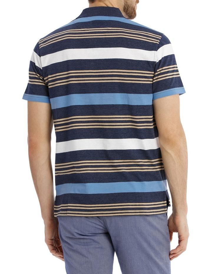 Coconut Stripe Polo image 3
