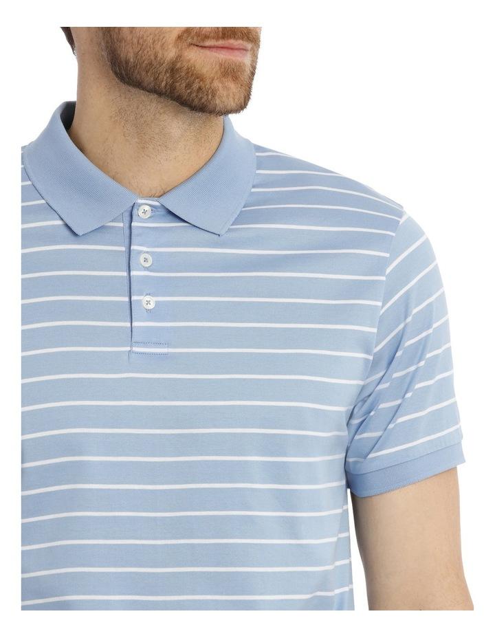 Mornington Mercerised Thin Stripe Polo image 4