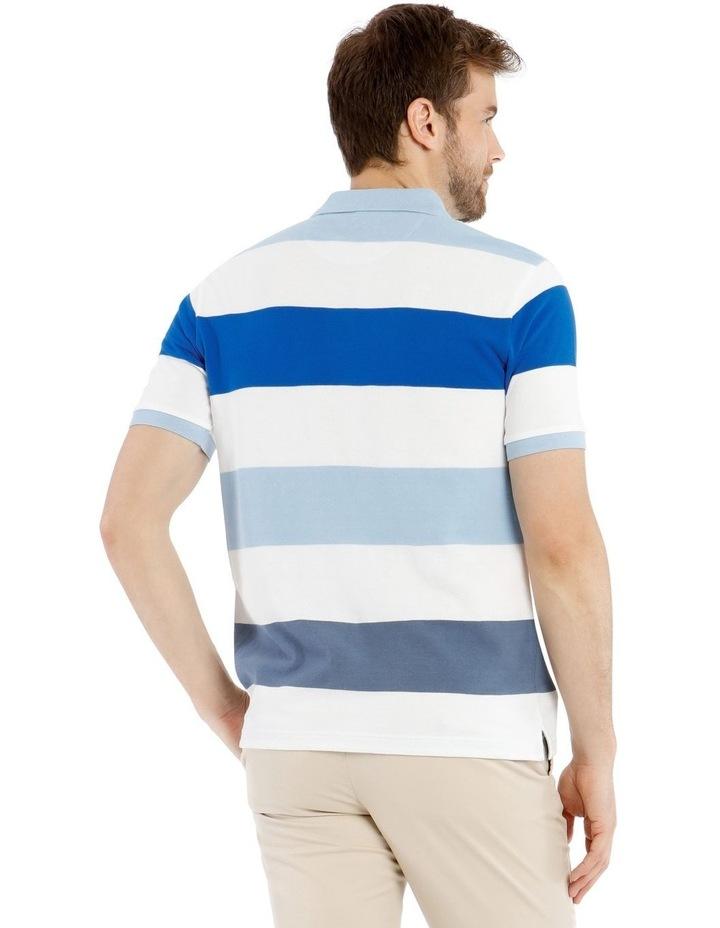 Harvard Stripe Pique Polo image 3