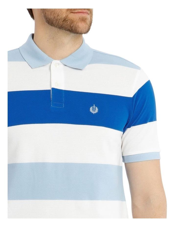 Harvard Stripe Pique Polo image 4