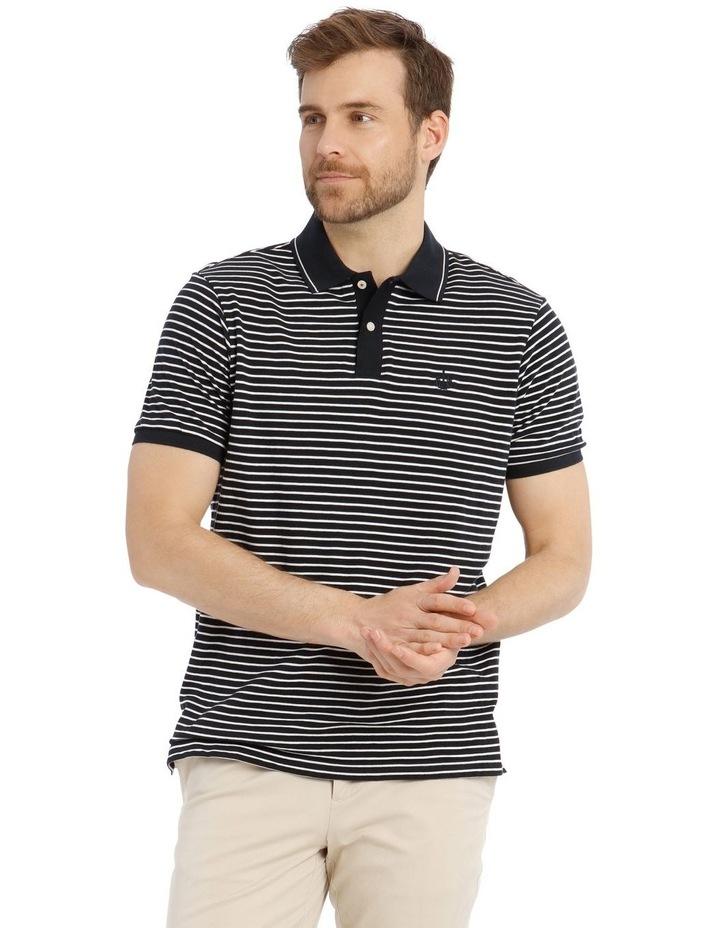 Hampton Feeder Stripe Polo image 1
