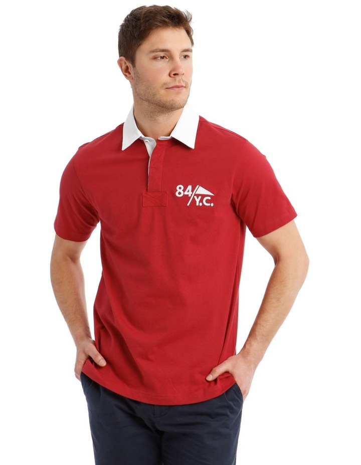 Blythe Short-Sleeve Rugby Polo image 1