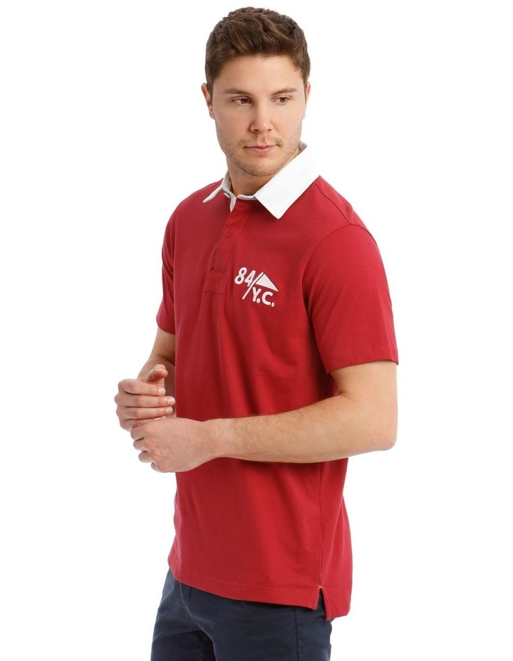 Blythe Short-Sleeve Rugby Polo image 3