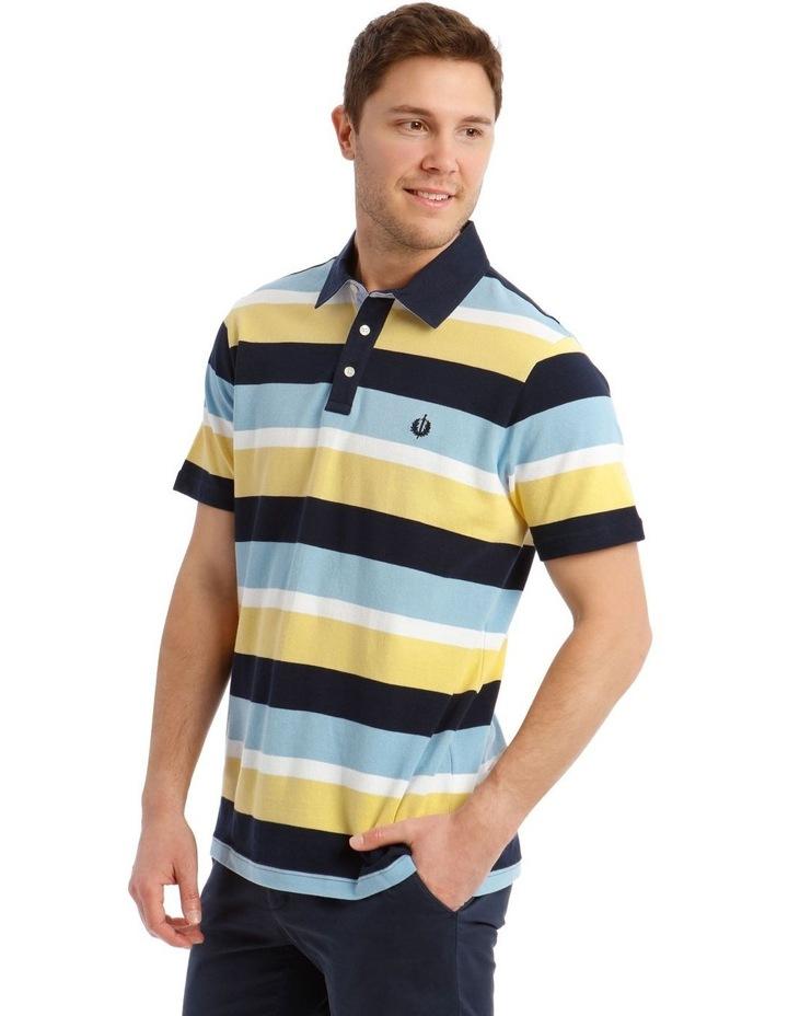Surrey Pique Stripe Hot Price Polo image 2