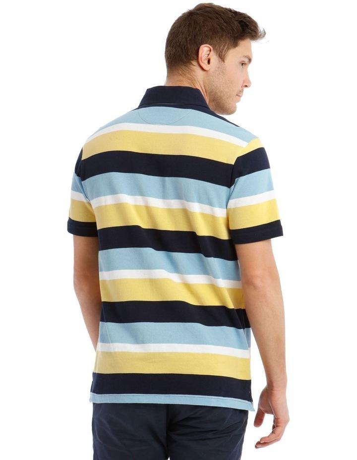 Surrey Pique Stripe Hot Price Polo image 3