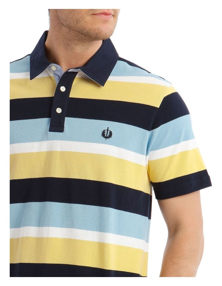 Surrey Pique Stripe Hot Price Polo image 4