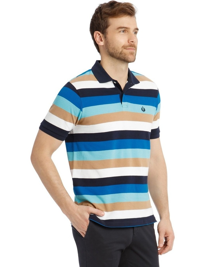 Palmer Pique Stripe Hot Price Polo Shirt image 2