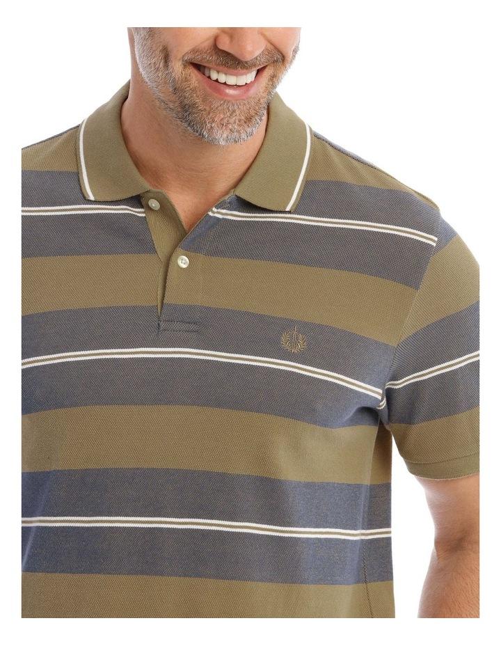 Hudson Block Stripe Birdseye Polo image 4