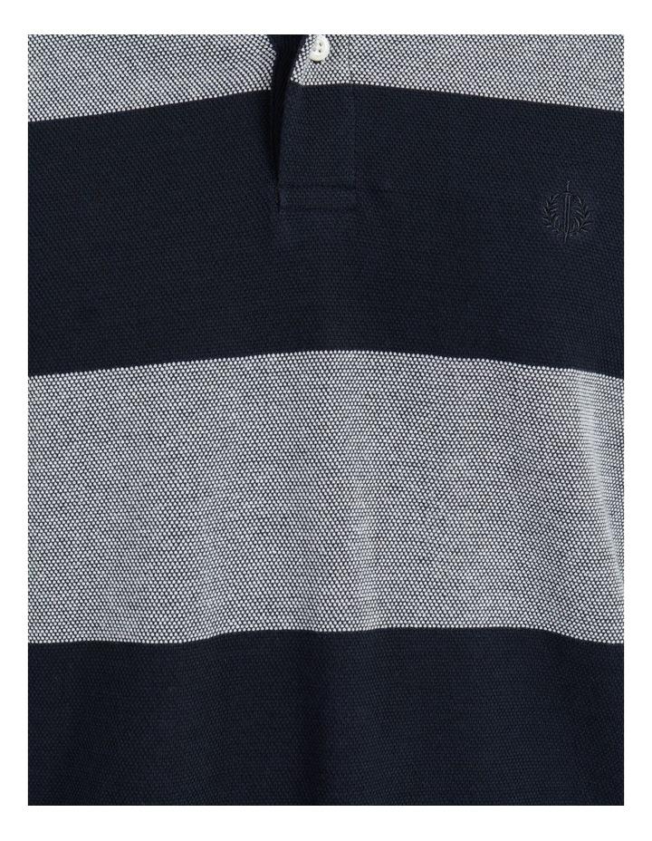 Hudson Birdseye Block Stripe Polo image 7