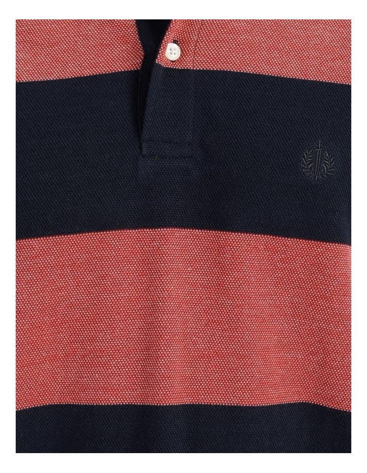 Hudson Birdseye Block Stripe Polo image 6