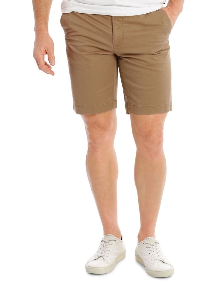 Beachwood Elasticated Short in Tan image 1