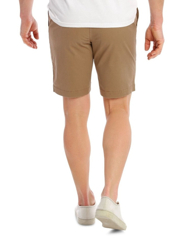 Beachwood Elasticated Short in Tan image 3