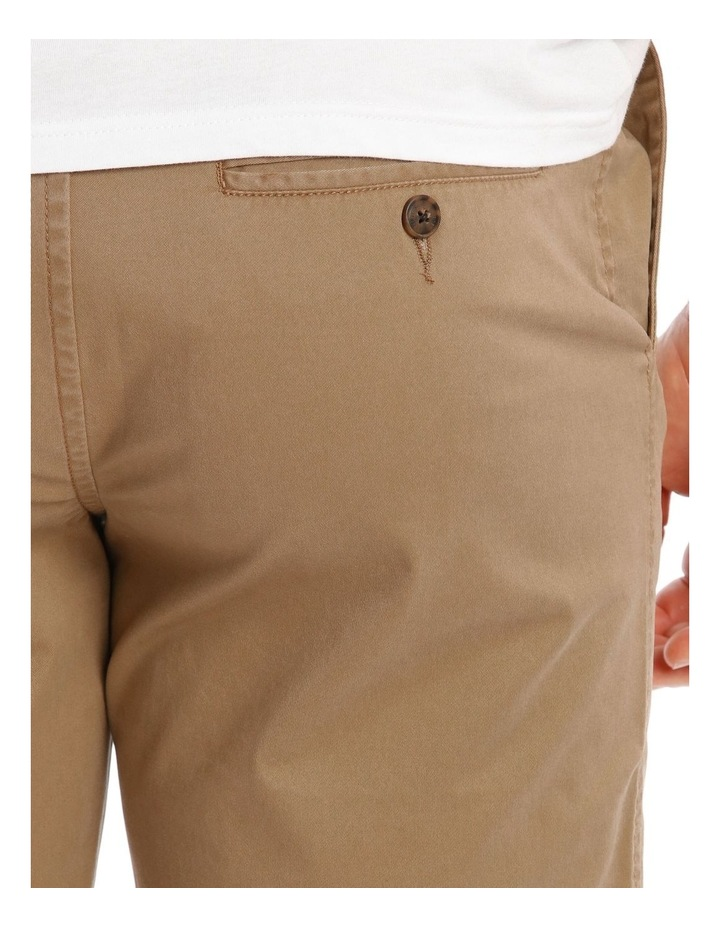 Beachwood Elasticated Short in Tan image 4