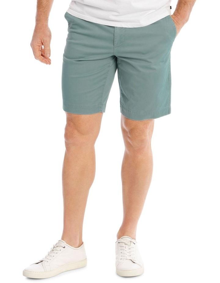 Beachwood Elasticated Short in Jade image 1