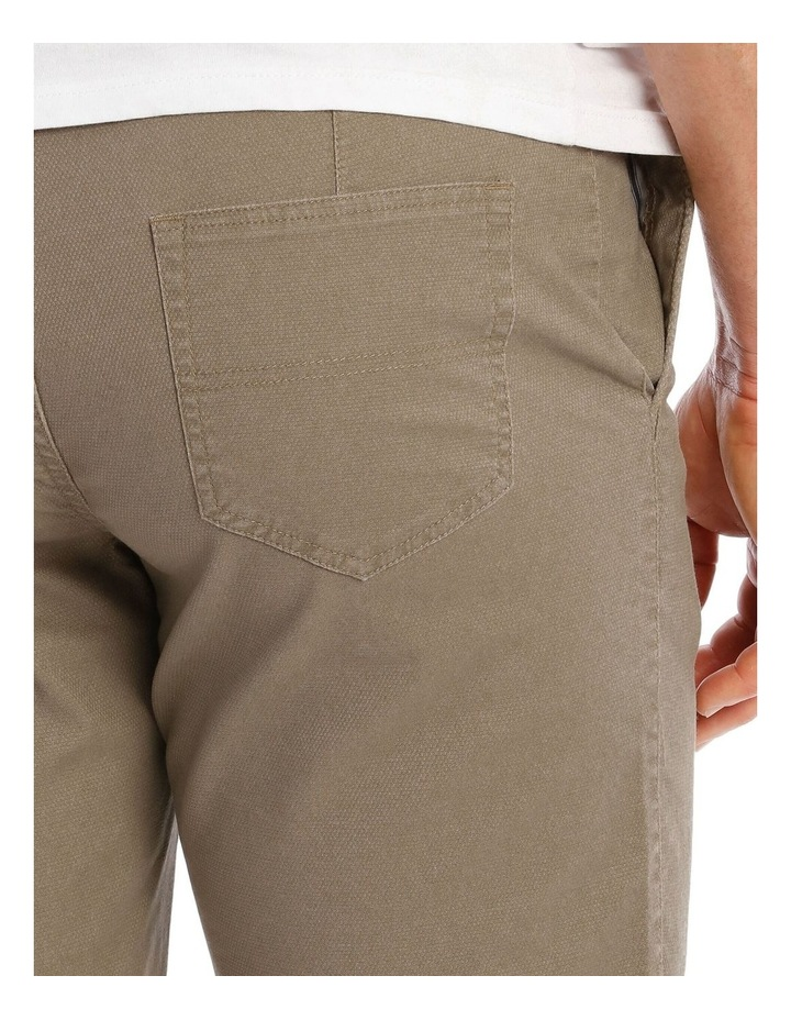 Norfolk Textured Short in Taupe image 4