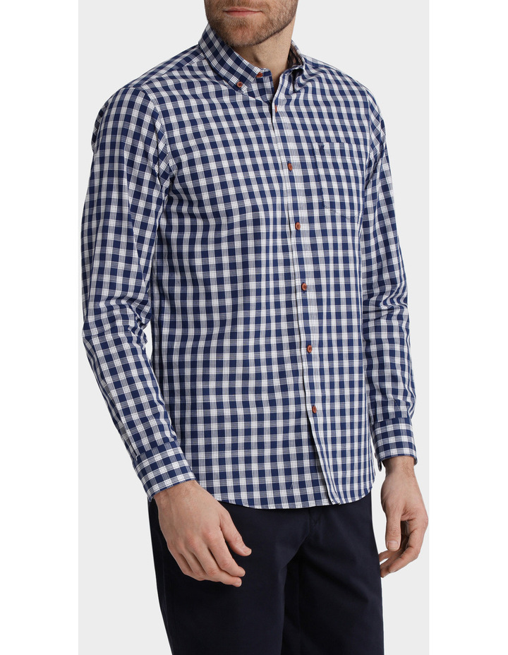 Long Sleeve Duchamp Check Shirt image 2