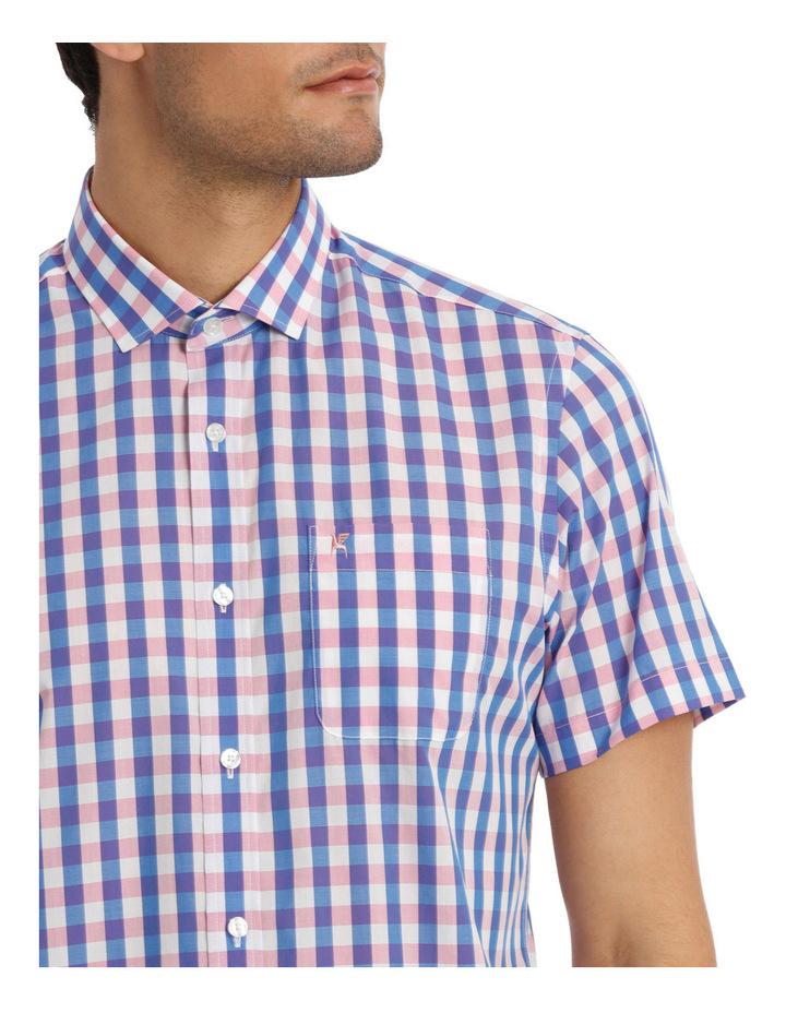 Short Sleeve Warhol Check Shirt image 4