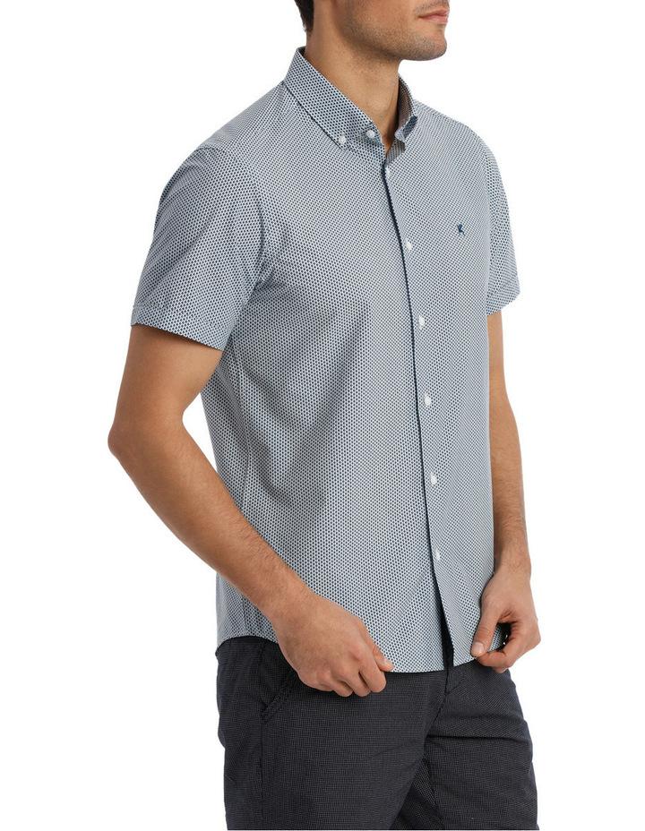 Short Sleeve Dali Geometric Print Shirt image 2
