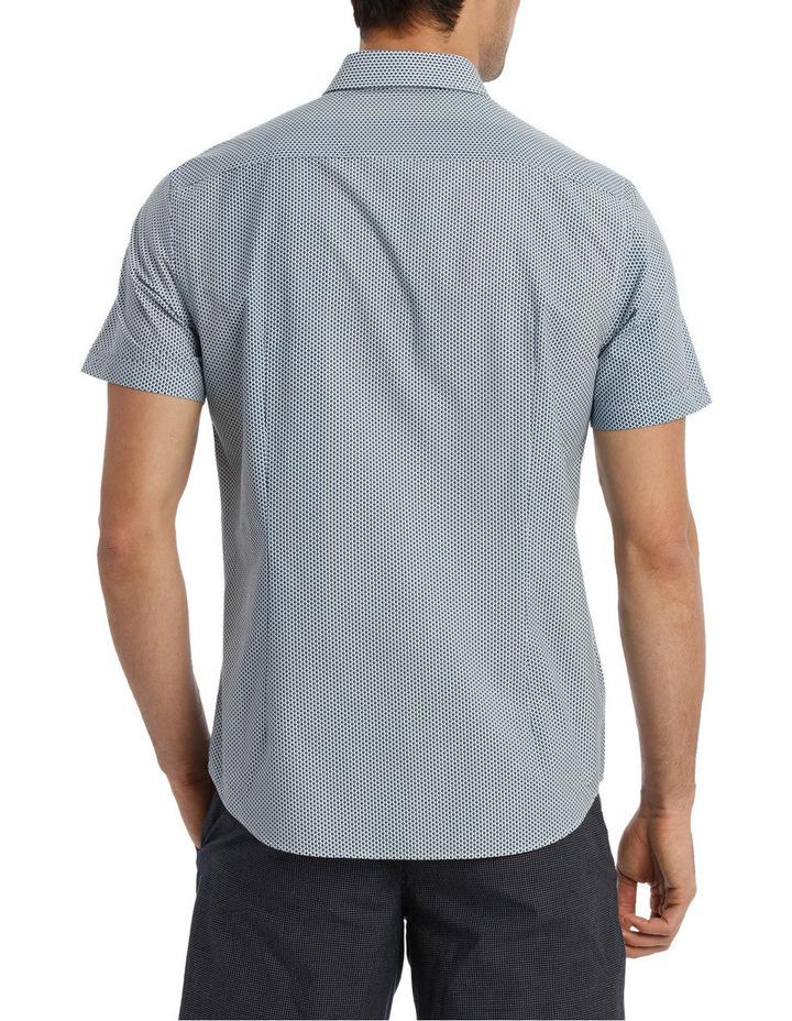 Short Sleeve Dali Geometric Print Shirt image 3