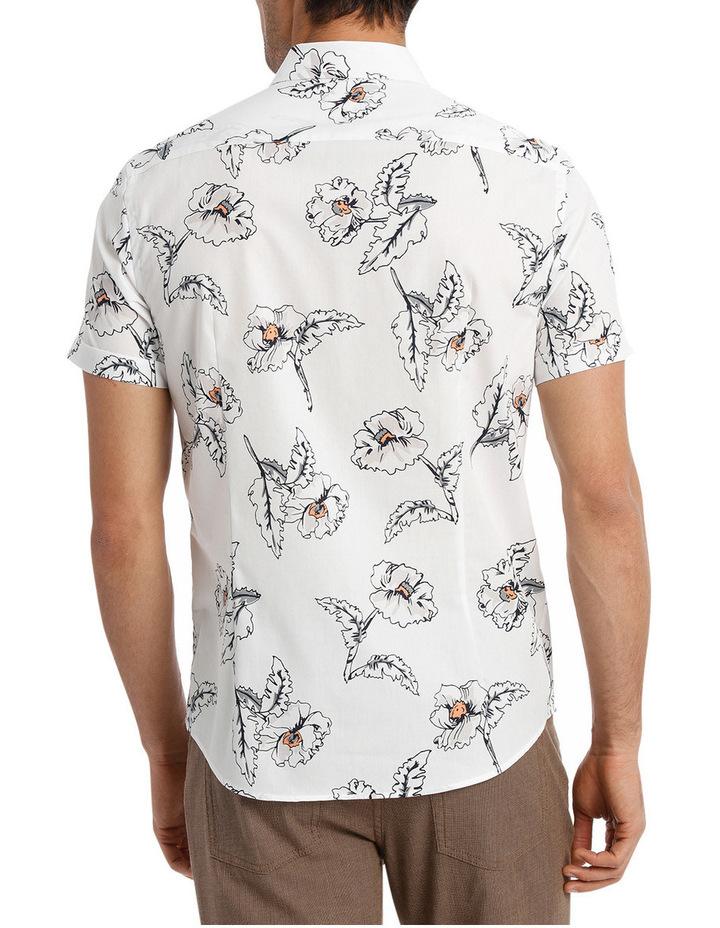 Short Sleeve Hibiscus Print Shirt image 3