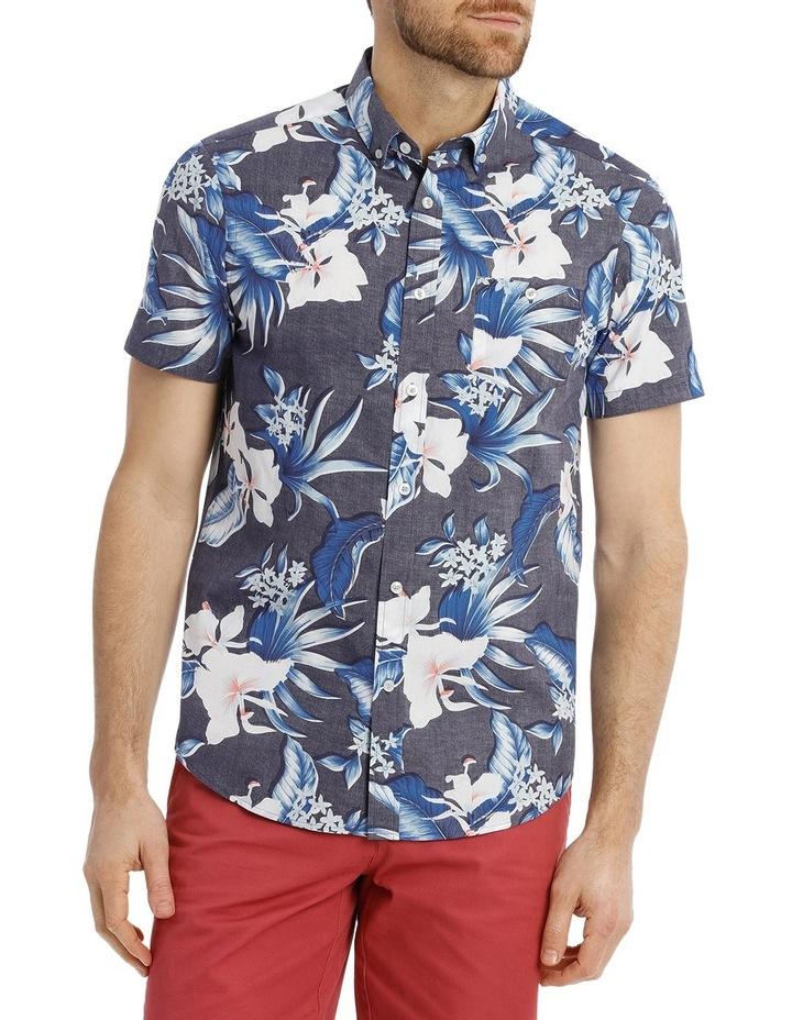 Skipton Floral Reverse Print Shirt image 1