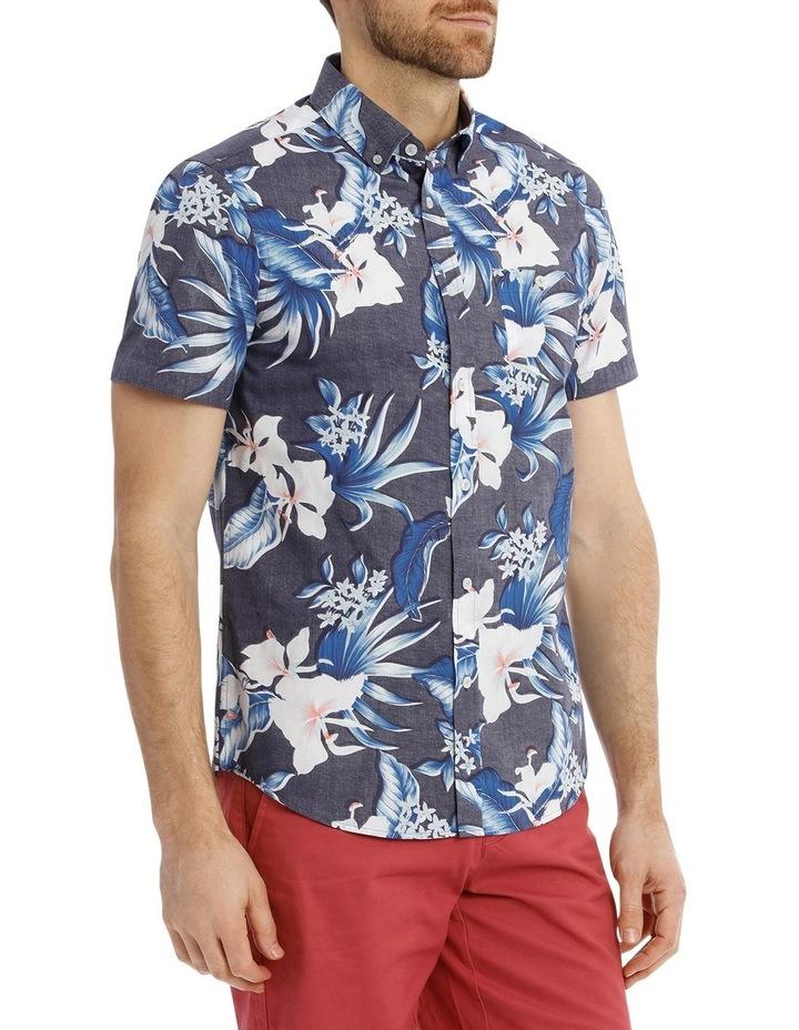 Skipton Floral Reverse Print Shirt image 2