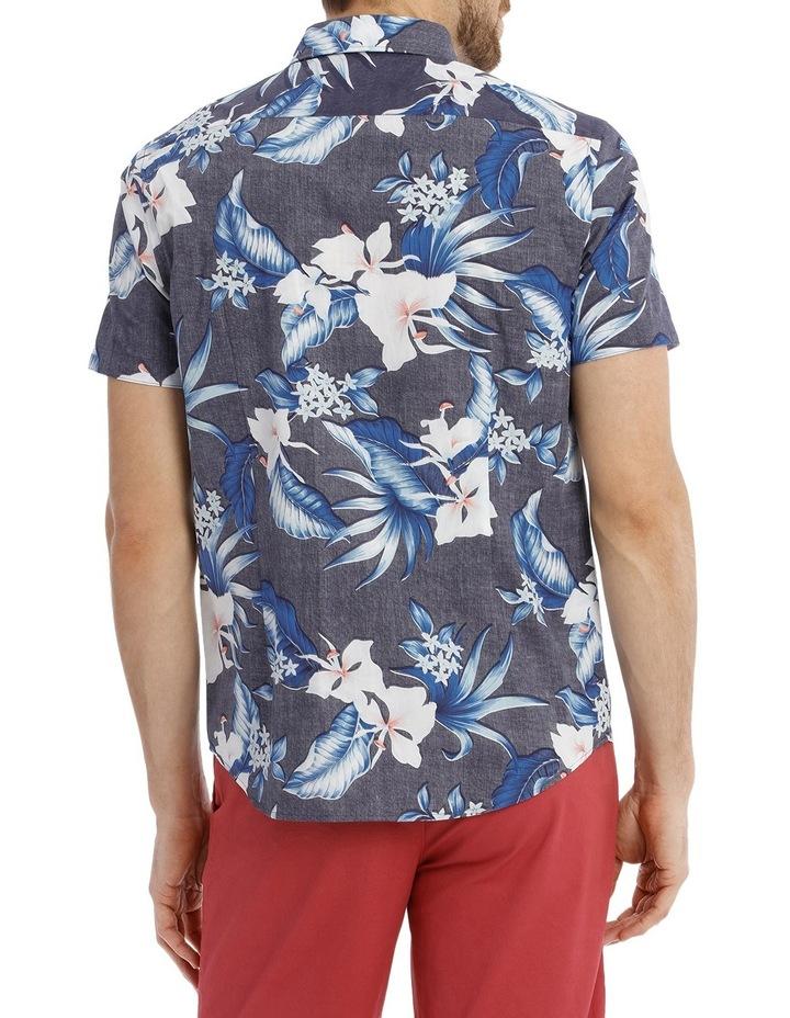 Skipton Floral Reverse Print Shirt image 3