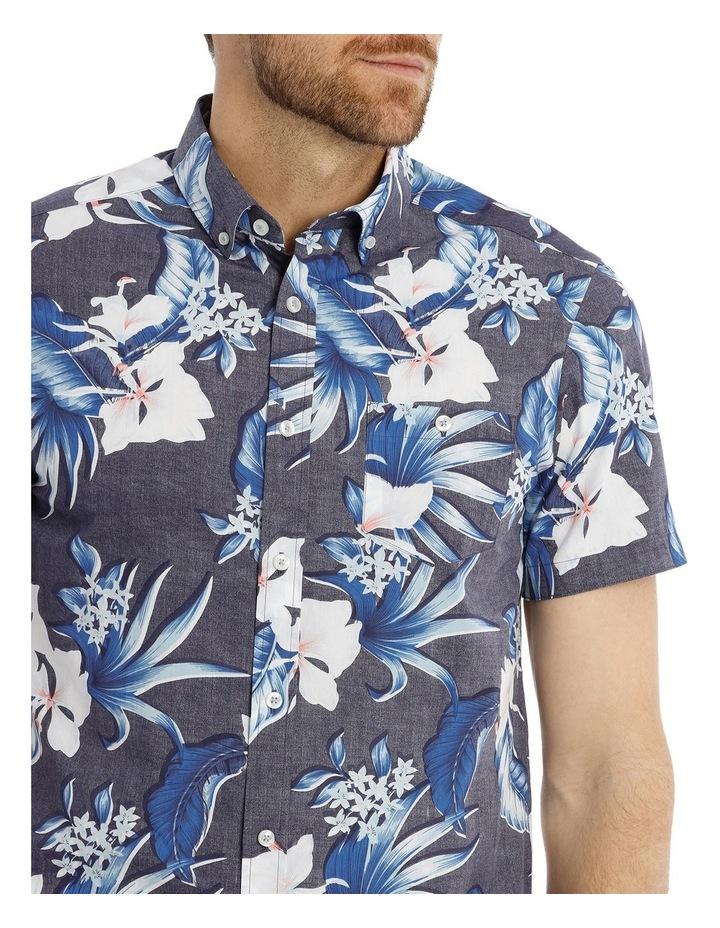 Skipton Floral Reverse Print Shirt image 4
