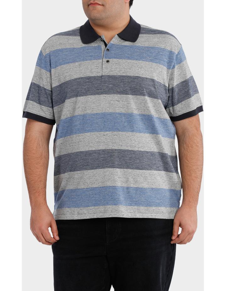 Short Sleeve Block Stripe polo image 1