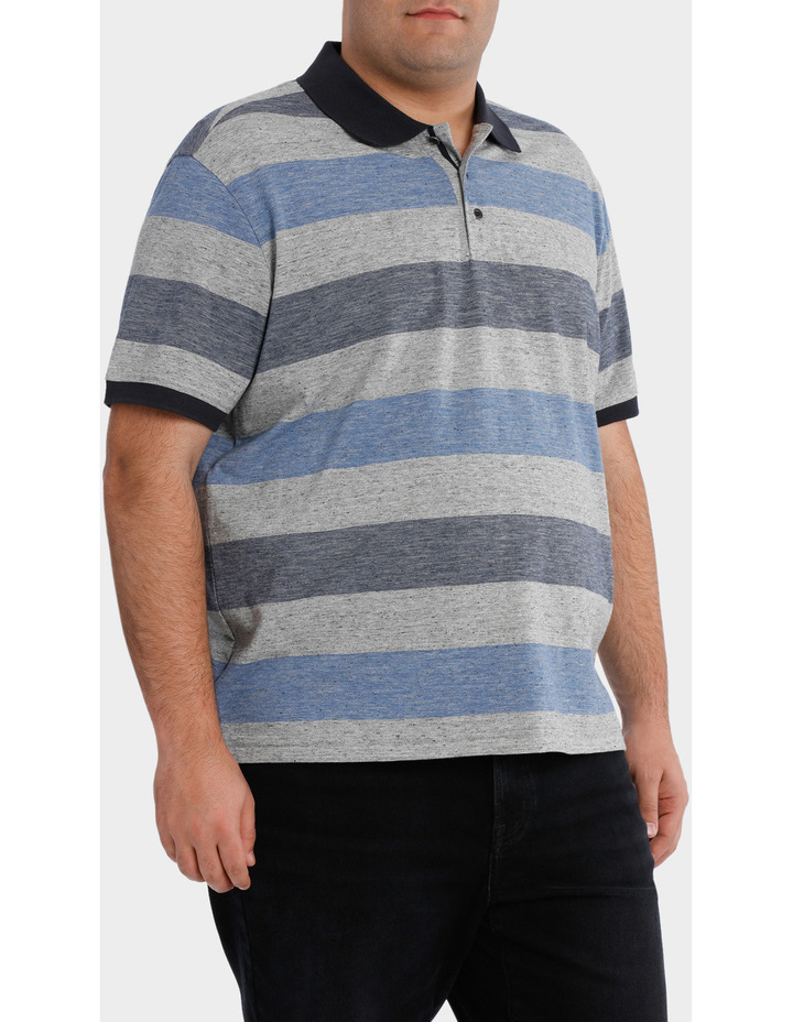 Short Sleeve Block Stripe polo image 2