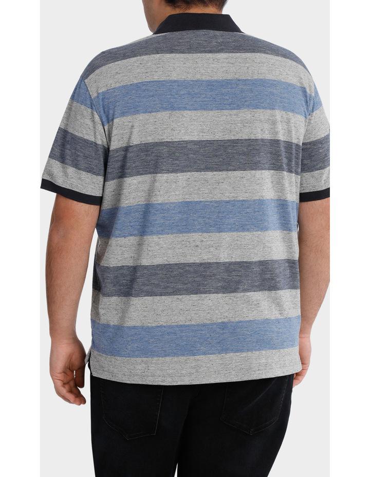 Short Sleeve Block Stripe polo image 3