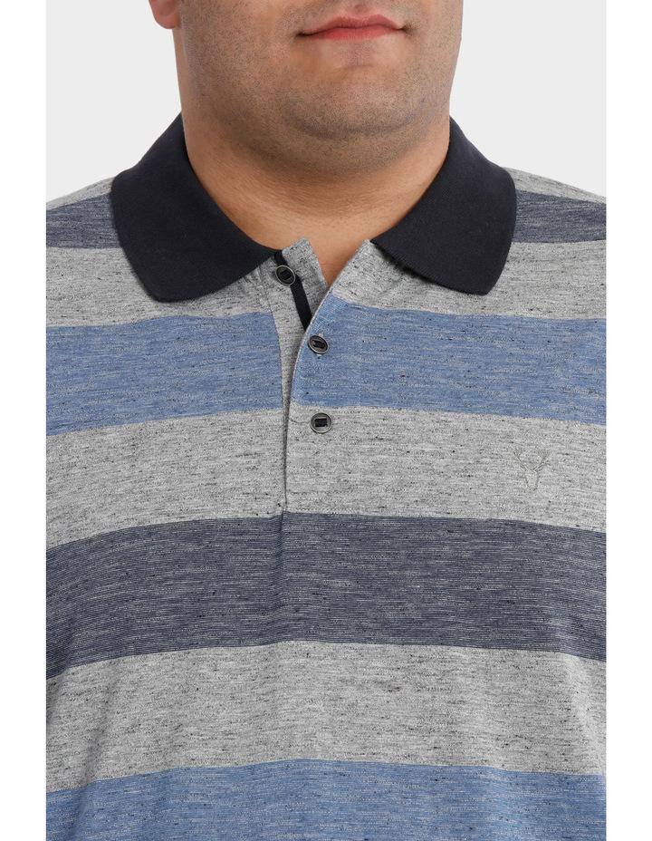 Short Sleeve Block Stripe polo image 4