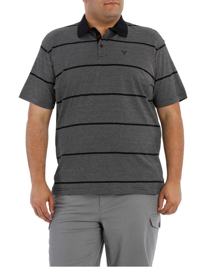 Short Sleeve Fine Stripe Polo image 1