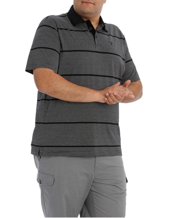 Short Sleeve Fine Stripe Polo image 2