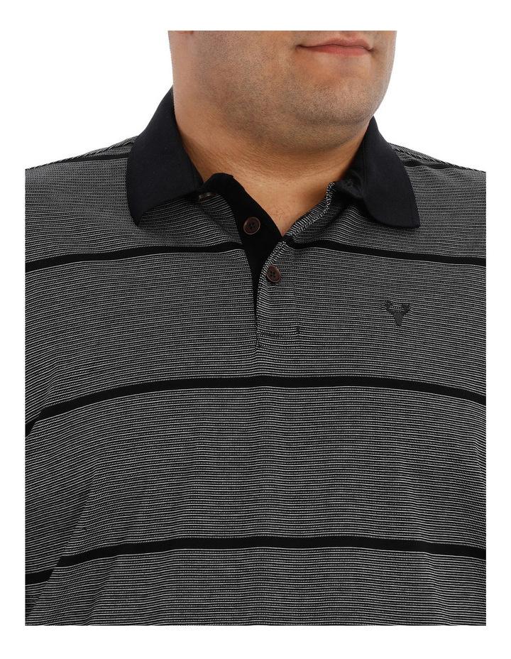 Short Sleeve Fine Stripe Polo image 4