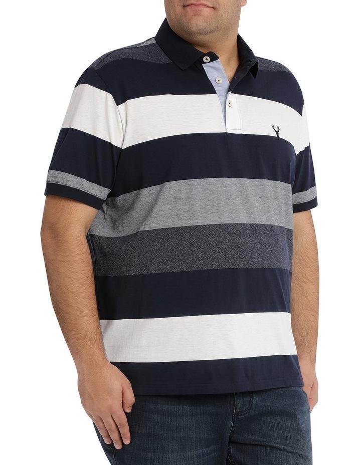 Hocking Mercerised Block Stripe Polo image 2