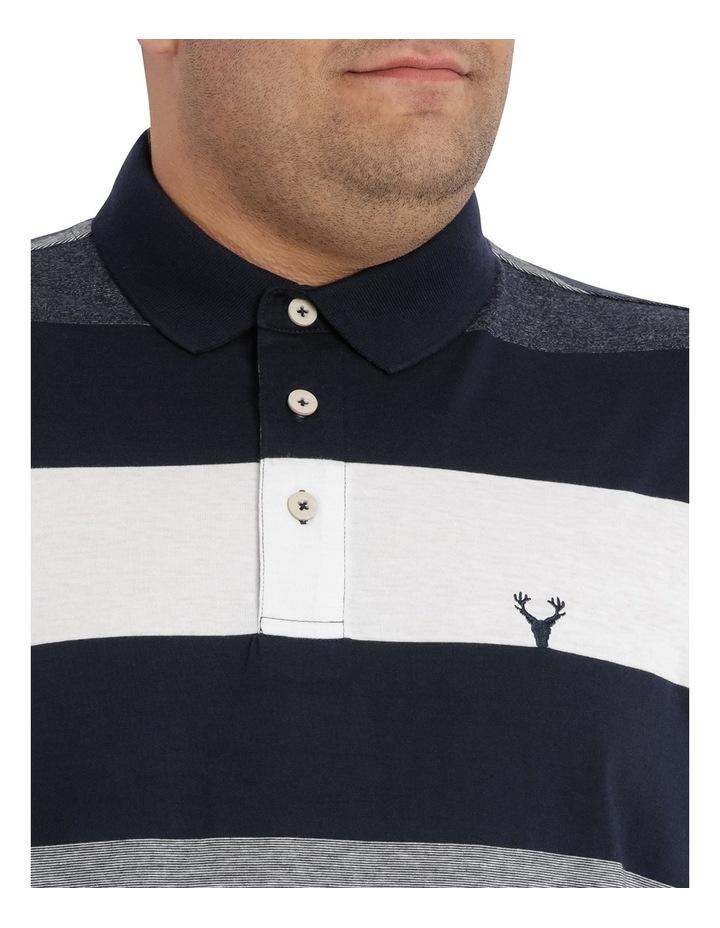 Hocking Mercerised Block Stripe Polo image 4