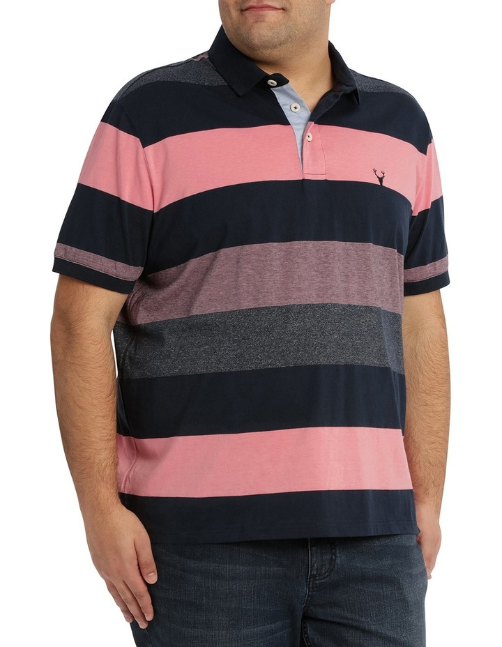 Hocking Mercerised Block Stripe Polo image 2