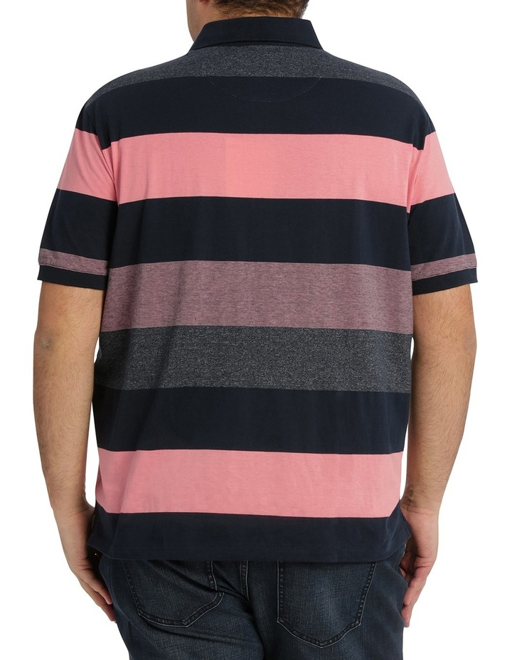 Hocking Mercerised Block Stripe Polo image 3