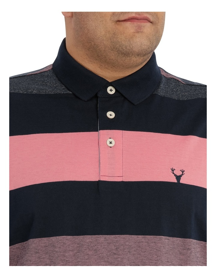 Hocking Mercerised Block Stripe Polo image 4
