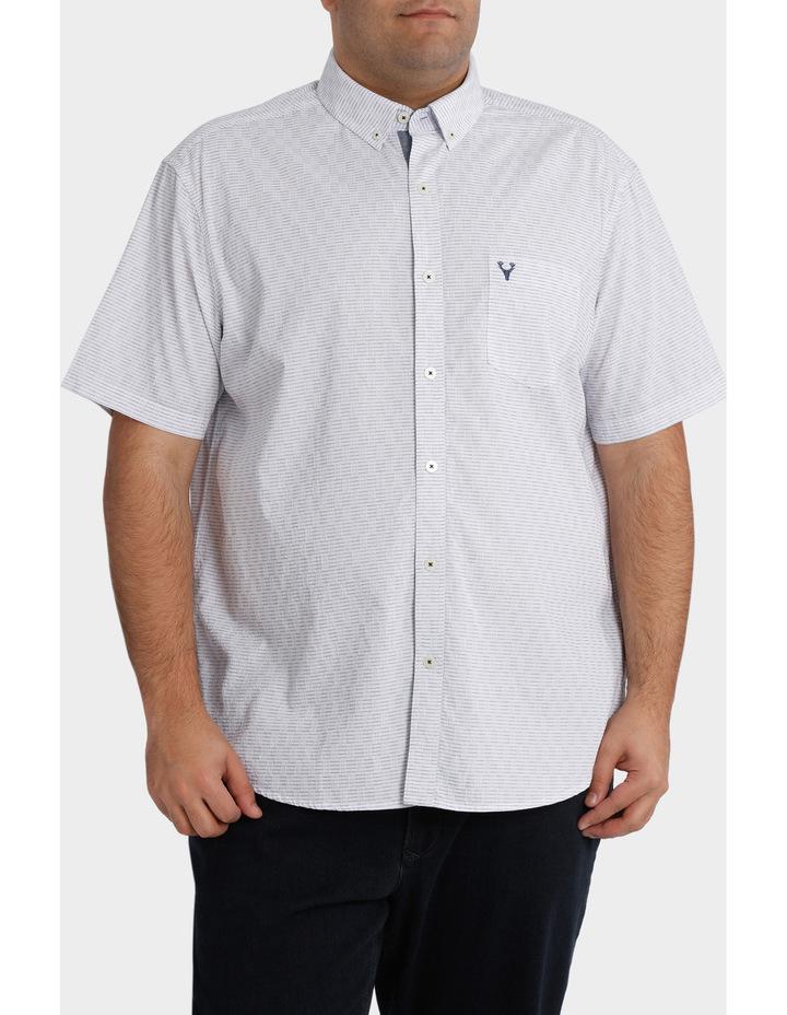 Short Sleeve Dobby Shirt image 1