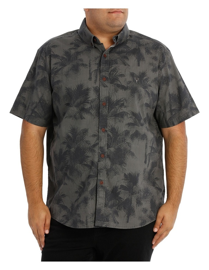 Short Sleeve Fern Print Shirt image 1