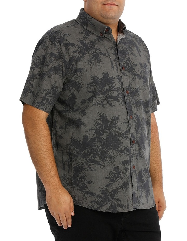 Short Sleeve Fern Print Shirt image 2